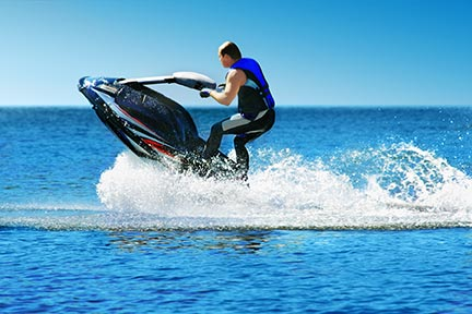 Many people like to do tricks on jet skis, however, these tricks often lead to injuries and boating accidents. Call a Bay City boat accident attorney today to discuss your options.